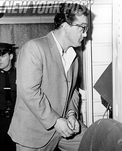 Mobster Gennaro Basiano in custody June 1963.