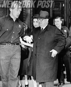 Dr Murray L. Brant was arrested by police Marie Circle for criminal abortion. 1962