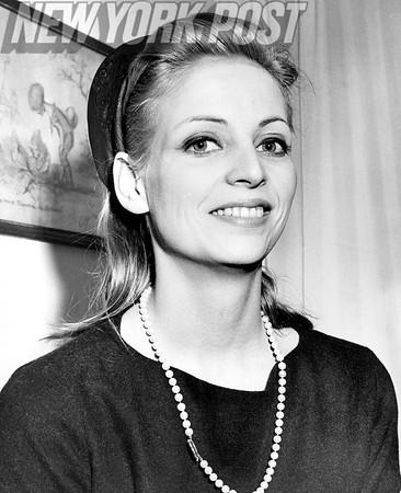 Beauty Countess Christina Paolozzi Bellin. 1962