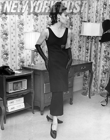 A Stunning James Galanos design. Esteemed American fashion designer and couturier.