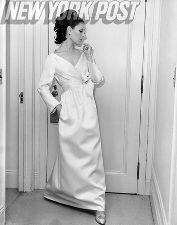 James Galanos,  American fashion designer and one of the world's foremost 20th-century couturiers. A beautiful design by James Galanos.