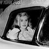 Pretty Gayle Baker teases NYU students. 1961
