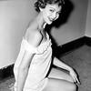 Beautiful Model Modeling Pajamas. 1955.