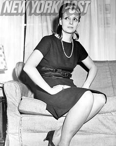 Model and socialite Christina Paolozzi Bellin. 1962