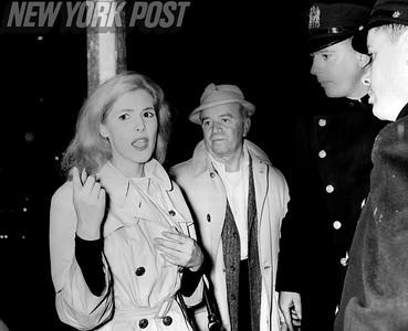 Gayle Baker was seen streaking at NYU campus. 1961