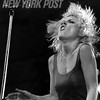 Debbie Harry performing at a Blondie Concert in Central Park
