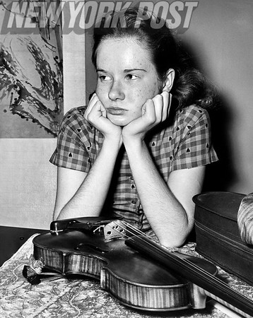Penny Ambrose- 15 year old child-prodigy violinist. 1962