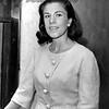 Nancy Shubert awaits the verdict on the Shubert last will and testament of John Shubert. 1963