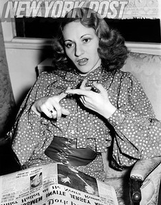 Singer Connee Boswell, of the Boswell Sisters, sits down with the New York Post. 1938