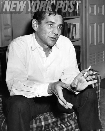 """Leonard Bernstein discusses the film """"On the Waterfront"""" and his amazing scores for the movie. 1955"""