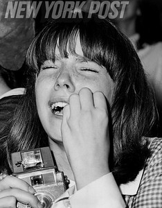 Tears of Joy and Admiration at a Beatles concert in 1965