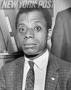 The many faces of writer James Baldwin during this New York Post interview. 1963