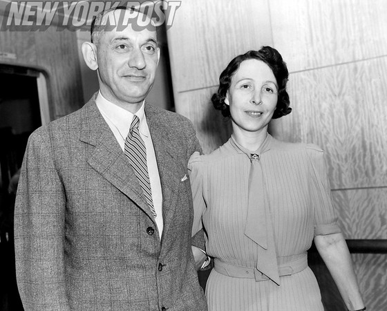 Arnold Bernstein and his wife come to NYC after being imprisoned by the Nazis. 1939