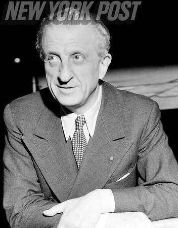 Henri Bernstein- French Playwright is interviewed. 1939