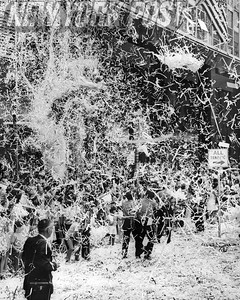 NYC Parade on Broadway to celebrate the Apollo 11 astronauts landing on the moon! 1969
