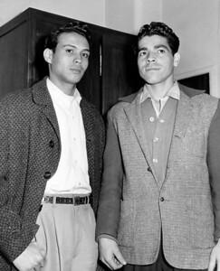 Caspar De Jesus and Carmel Caraballo. June 04, 1959.