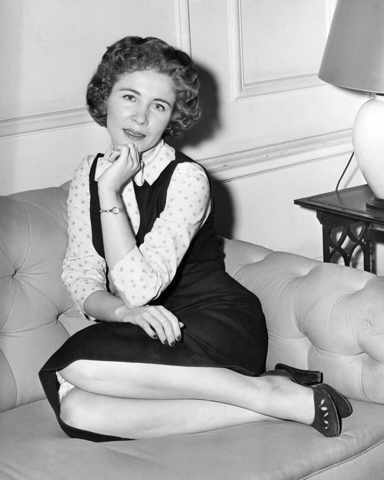 Patricia Ann Buttram. October 15, 1956.