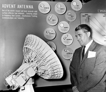 Werner Von Braun, famed rocket scientist, and Director of National Aeronautics and Space Administration