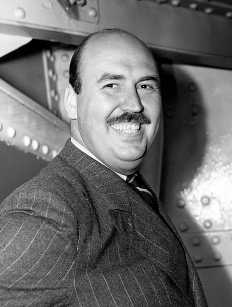 Volunteer ambulance driver, Francis Hamlin. 1940