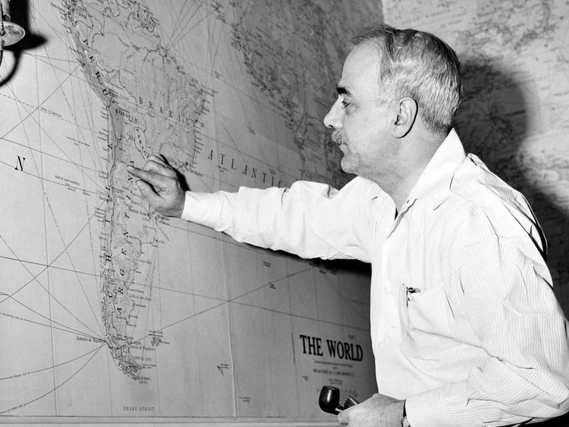 Mr. EP Hanson. 1949