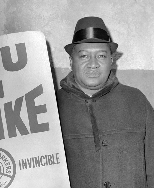 Subway Strike in NYC. 1966