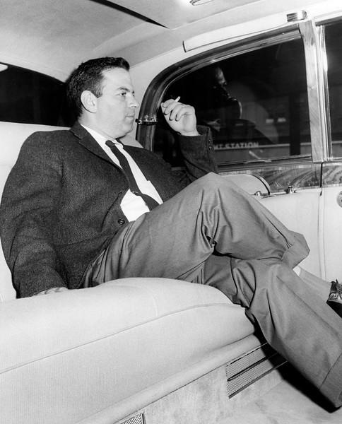 NY Post reporter, David Gelman, takes a ride. 1960