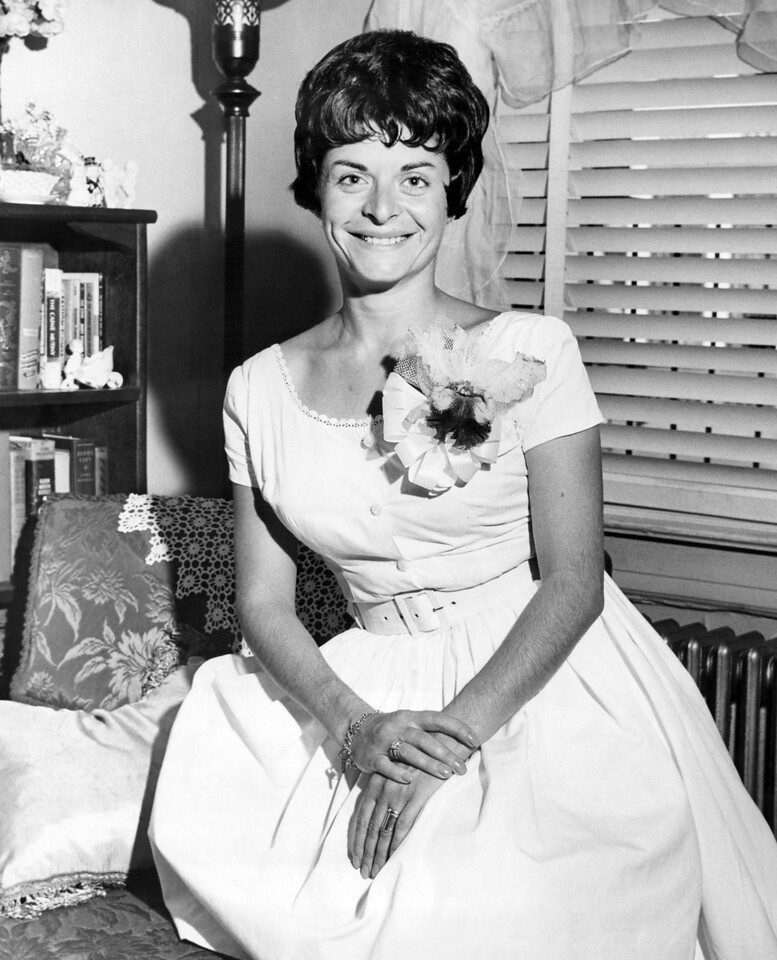 Hellen Berte poses for the camera. 1962