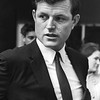 Headshot of the long standing Senator from Massachusetts, Ted Kennedy