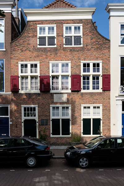 House of Benedictus de Spinoza - philosopher (1632 – 1677)