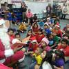 Zavala Elementary Christmas PTA: Santa visit Zavala Elementary students.