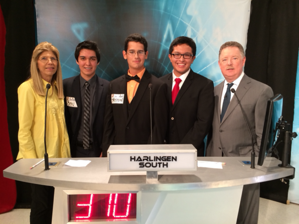 Harlingen High School South students are victorious on KRGV Masterminds.