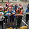 Harlingen High School South giving gifts to the community during Operation Santa