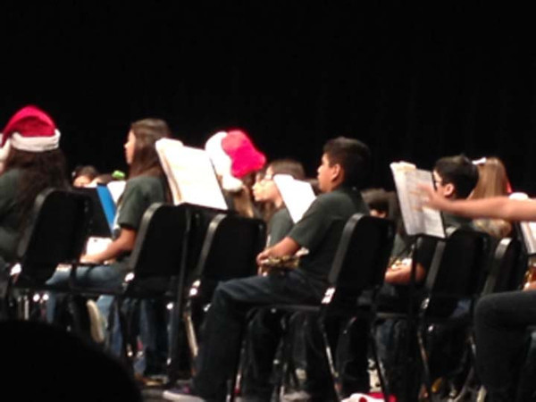 Gutierrez Middle School Holiday Concert at the Performing Arts Center