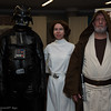 Darth Vader, Princess Leia Organa, and Obi-Wan Kenobi