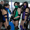 Kitana, Jade, and Mileena
