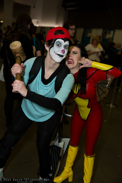 Wakko and Spider-Woman