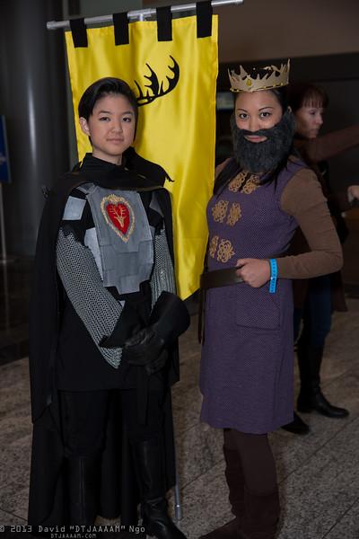 Stannis Baratheon and Robert Baratheon