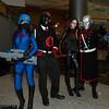 Cobras, Cobra Commander, Baroness, and Destro
