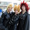 Demyx, Roxas, and Axel