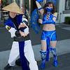Raiden and Kitana