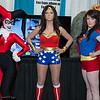 Harley Quinn, Wonder Woman, and Supergirl
