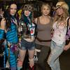 Na'vi, Tank Girl, Lara Croft, and Andrea