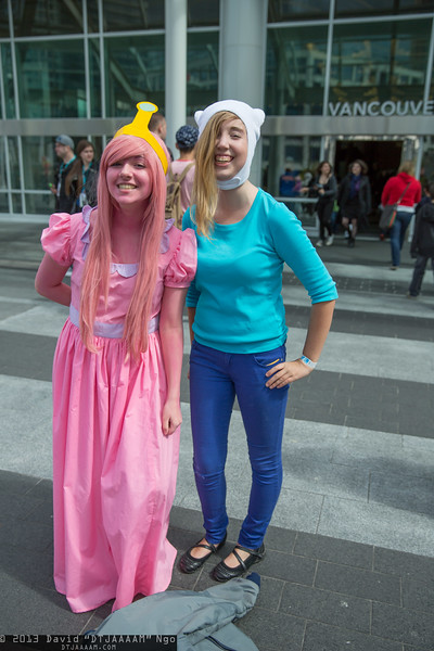 Princess Bubblegum and Fionna