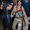 Sub-Zero and Lara Croft