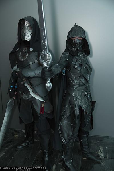 Dragon Priest and Nightingale