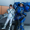 Sarah Kerrigan and Jim Raynor