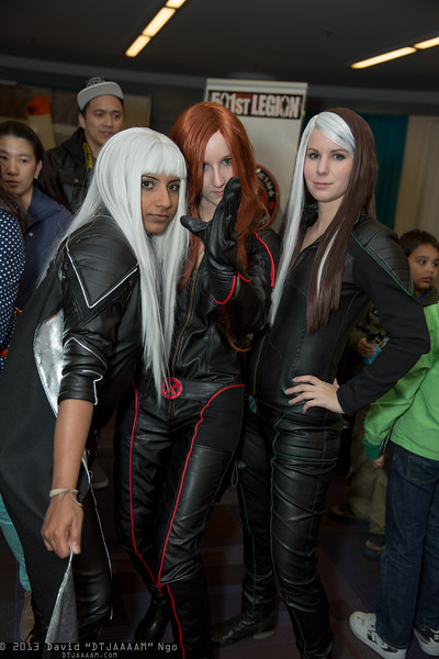 Storm, Jean Grey, and Rogue
