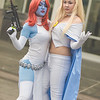 Mystique and Emma Frost