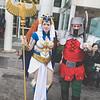 Sorceress and Ram Man