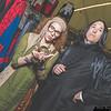 Sybill Trelawney and Severus Snape